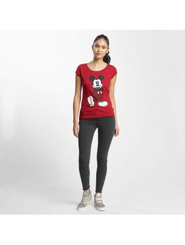 Rock Angel Damen T-Shirt Mickey Mouse in rot