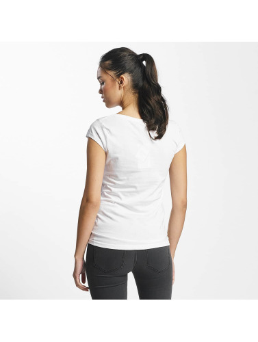 Rock Ange Dames T-shirt Mickey Souris En Blanc