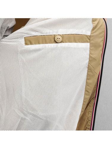 Schott NYC Herren College Jacke Classic in beige