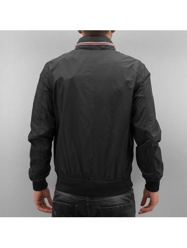 Schott NYC Herren College Jacke Classic in schwarz
