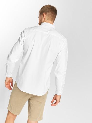 Opprinnelige Glans I Hvitt Poplin Skjorte rabatt view j0LKtC