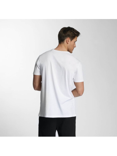 SHINE Original Hombres Camiseta Skater in blanco