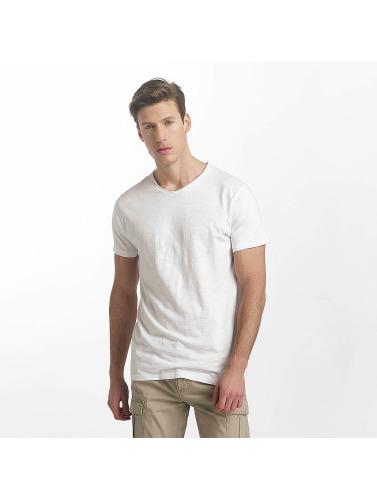 SHINE Original Hombres Camiseta Bruno in blanco