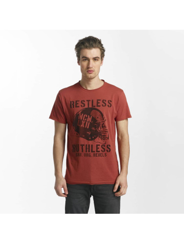 SHINE Original Hombres Camiseta Bradley Ruthless & Reckless in rojo