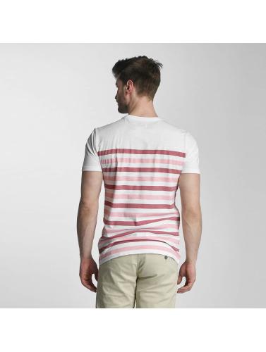 SHINE Original Hombres Camiseta Striped in rosa
