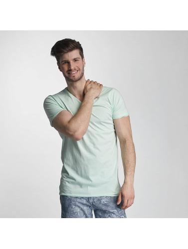 SHINE Original Hombres Camiseta Mélange in verde