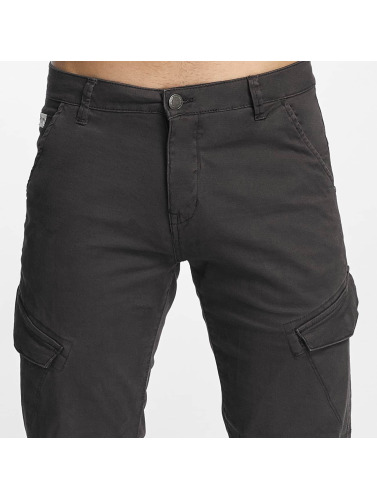 SHINE Original Herren Cargohose Slim in grau