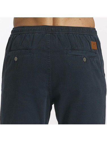 SHINE Original Herren Chino Drop Crotch in blau