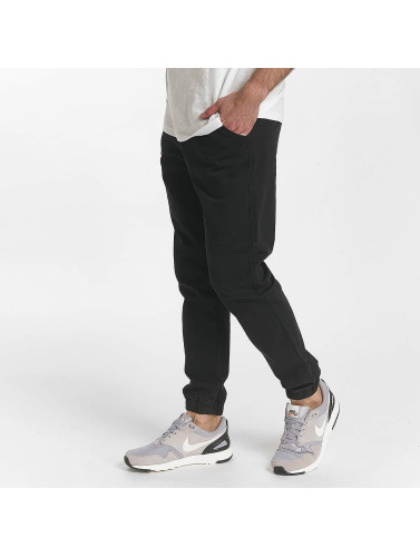 SHINE Original Herren Chino Drop Crotch in schwarz