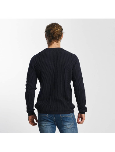SHINE Original Herren Pullover O-Neck Knit in blau