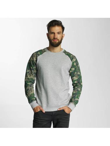 SHINE Original Herren Pullover Zane Printed in grau