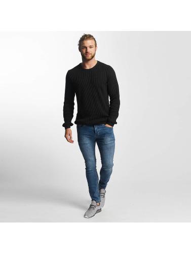 SHINE Original Herren Pullover O-Neck Knit in schwarz