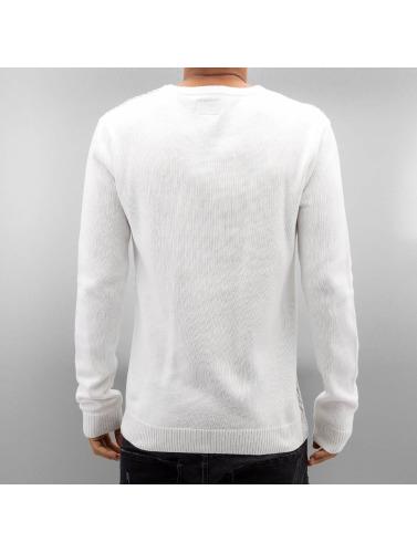 SHINE Original Herren Pullover o Neck in weiß