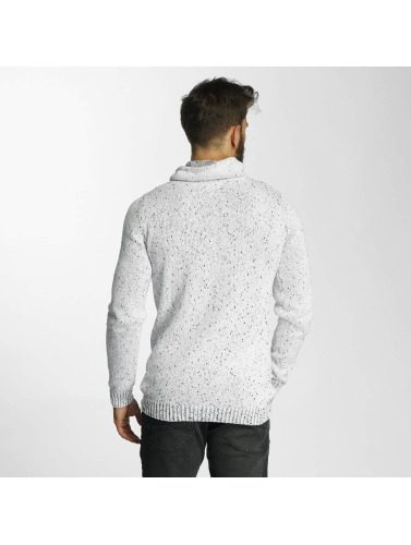 SHINE Original Herren Pullover Wade Cross in weiß