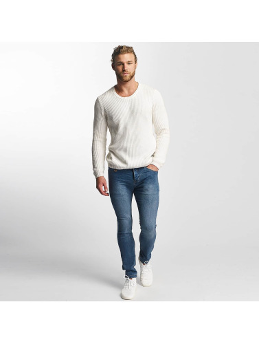 SHINE Original Herren Pullover O-Neck Knit in weiß