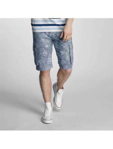SHINE Original Herren Shorts Long Printed in blau