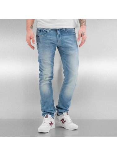 SHINE Original Herren Skinny Jeans Woody Slim Fit in blau