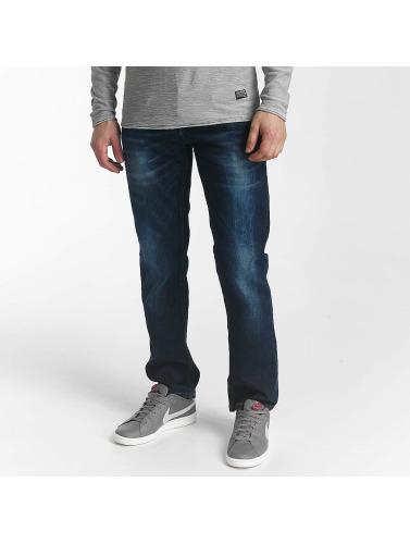 SHINE Original Herren Straight Fit Jeans Wardell in blau