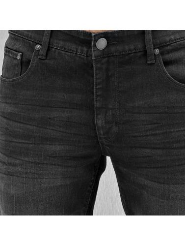 SHINE Original Herren Straight Fit Jeans Tapered in schwarz