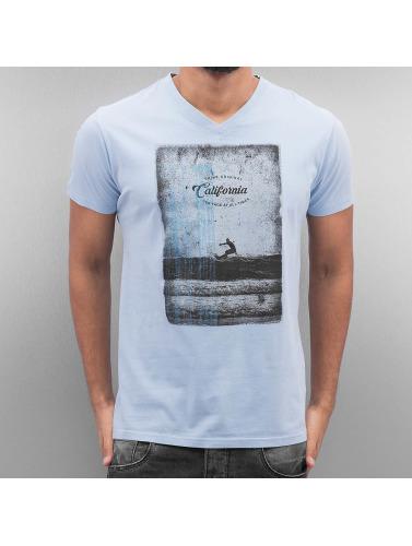 SHINE Original Herren T-Shirt California in blau