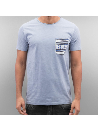 SHINE Original Herren T-Shirt Pocket in blau