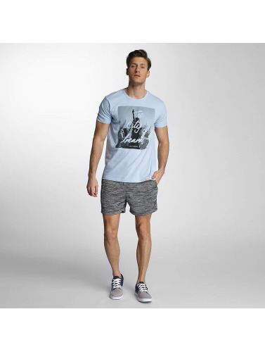 SHINE Original Herren T-Shirt City Lane in blau