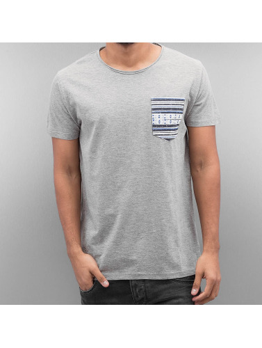SHINE Original Herren T-Shirt Pocket in grau