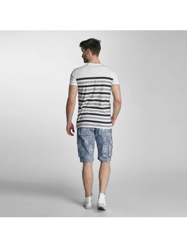 SHINE Original Herren T-Shirt Striped in grau