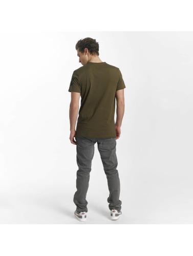 SHINE Original Herren T-Shirt Rock 'n Roll in grün