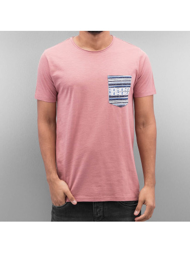 SHINE Original Herren T-Shirt Pocket in rosa