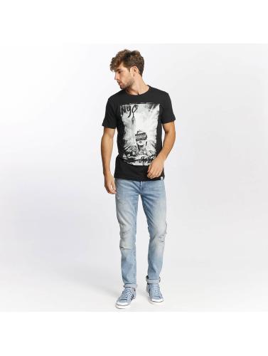 SHINE Original Herren T-Shirt Kleth Photo Print in schwarz