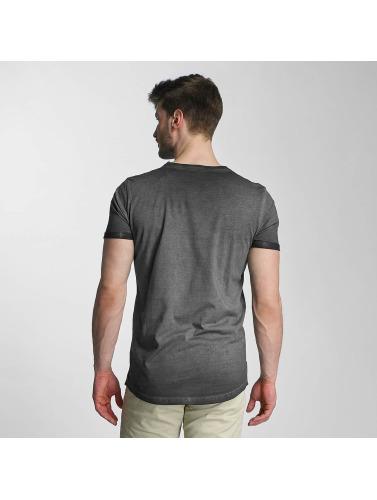 SHINE Original Herren T-Shirt Dirt Dye Wash in schwarz