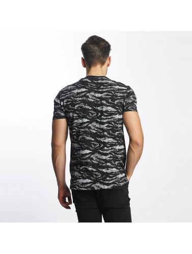 SHINE Original Herren T-Shirt All Over Print in schwarz