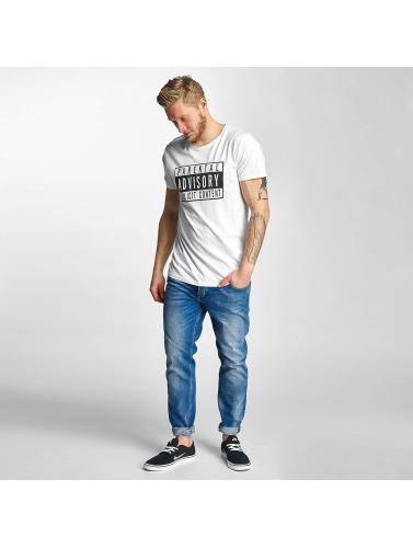 SHINE Original Herren T-Shirt Parental Advisory in weiß