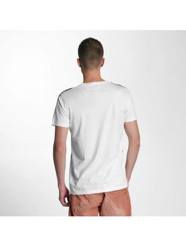 SHINE Original Herren T-Shirt Print Oversize in weiß