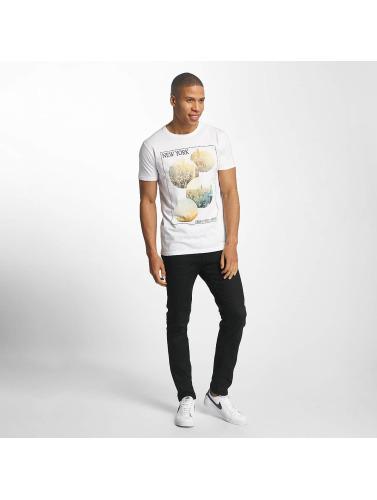 SHINE Original Herren T-Shirt Barret Photo Print in weiß
