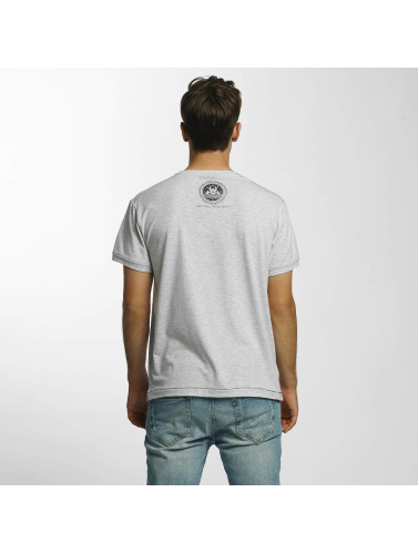 Shisha Hombres Camiseta Oktopussi in gris