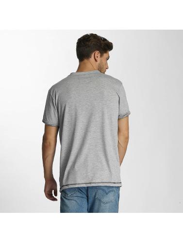 Shisha Hombres Camiseta Akraat in gris