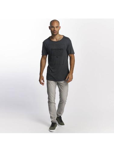 Shisha Hombres Camiseta Loocker in gris