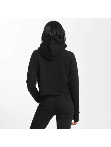 Shisha Mujeres Sudadera Cropped in negro