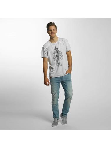 Shisha Herren T-Shirt Oktopussi in grau
