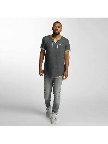 Shisha Herren T-Shirt Knutten in grau