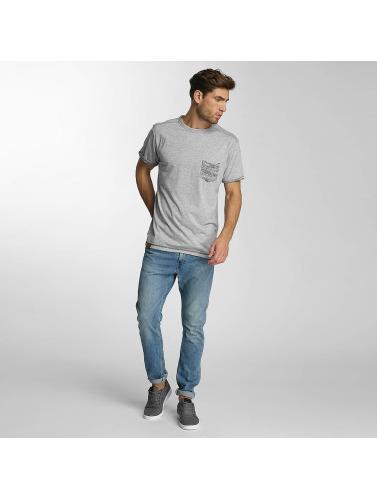 Shisha Herren T-Shirt Akraat in grau