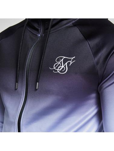 Sik Silk Herren Übergangsjacke Athlete Through in schwarz
