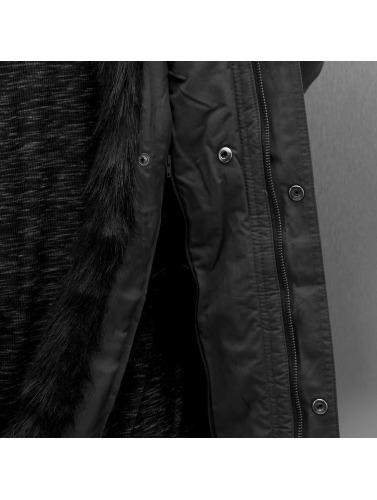 Sixth June Hombres Abrigo Fur in gris