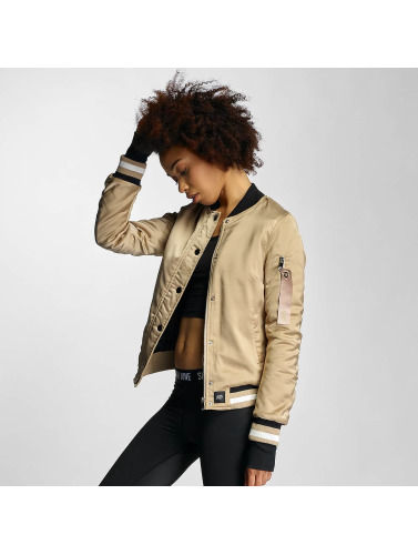 Sixth June Damen Bomberjacke Paris 75 in beige