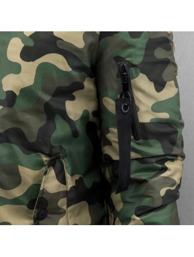 Sixième Juin Herren Bomberjacke Camou En Camouflage