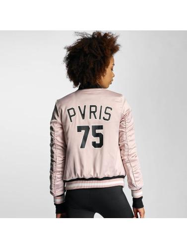 Sixth June Damen Bomberjacke Paris 75 in rosa