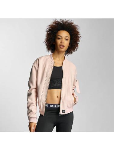 Sixth June Damen Bomberjacke Wild in rosa