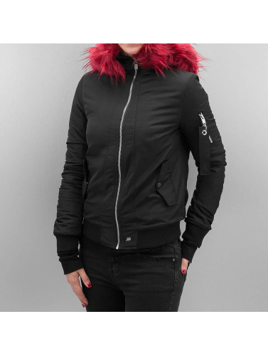 Sixth June Damen Bomberjacke Bera in schwarz
